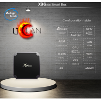 uClan Android TV Box X96 mini S905W ( 2Гб/16Гб ) Android 7.1.2