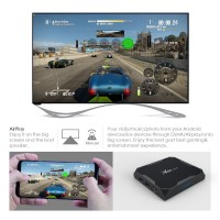 uClan X96 MAX S905X2 4/32 GB Android 8.1 Smart TV Box